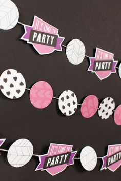 Cricut Print then Cut Princess Party Banner