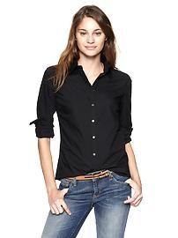 Women's Clothing: Women's Clothing: Long-sleeved Shirts & Blouses   Gap  Perfect shirt Regular Price $49.95