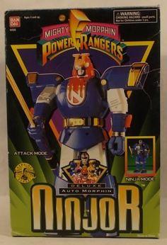 Mighty Morphin Power Rangers Deluxe Automorphin Ninjor http://www.ebay.ca/usr/collectiblesbycandb