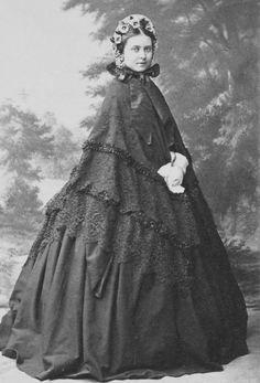 Victoria, Princess Royal, Princess Friedrich of Prussia, 1860.