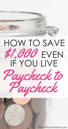 It is possible to build your savings even if you live paycheck to paycheck How to Save Money