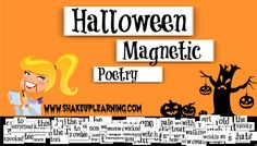 Halloween Magnetic Poetry with Google Drawings!: Who's ready for a little Halloween fun with Google Drawings? I've created a Halloween-themed magnetic poetry template with Google Drawings for you and your students. There are nearly 100 words in this one, so adapt the words that are appropriate for your grade levels. You can use this as an independent activity, or take it a step further and make it a collaborative activity and see how the poetry evolves.