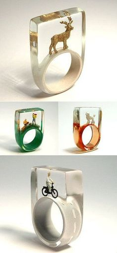 http://TheCarrotbox.com modern jewellery blog : obsessed with rings // feed your fingers!: December 2013
