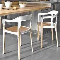 Steelwood Chair - Magis - Ronan Erwan Bouroullec Holzstuhl