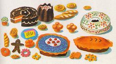 richard scarry sweets Tumblr