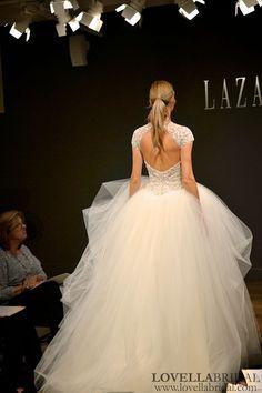 Princess Wedding Dresses : Bridal Fashion Week Fall 2013: Lazaro Private Viewing