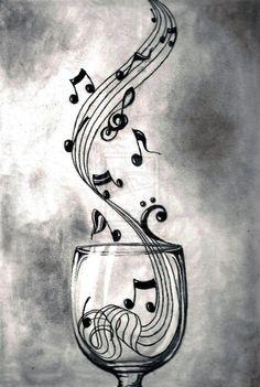 Le vin aidant elle prends toujours plus de sens. ..