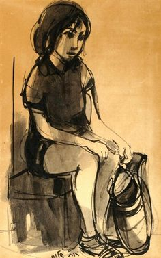 Ruth Schloss, Girl with a Basket