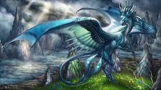 The Stormcaller by Araless.deviantart.com on @deviantART Beautiful #dragon