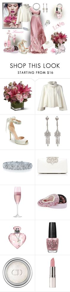 """""""Love.."""" by lumi-21 ❤ liked on Polyvore featuring Emilio Pucci, Alexander McQueen, Enzo Angiolini, Kwiat, Forever New, LSA International, Harrods, Lipsy, OPI and Christian Dior"""