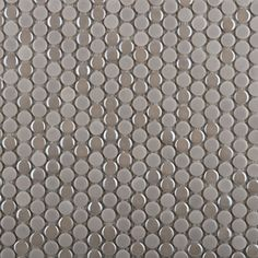 Emser�22-Pack 12-in x 12-in Confetti Silver Penny Round Glazed Porcelain Wall Tile-another possible backsplash idea