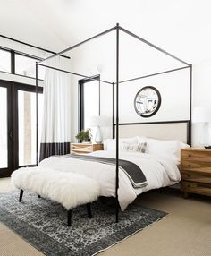 This beautiful Utah mountain home is designed by Syd and Shea McGee of design firm Studio McGee for a young couple with four children. The...