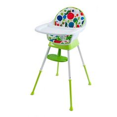 Our Hungry Caterpillar Convertible High Chair by The World of Eric Carle is designed to grow with your little one. Based on the popular children's book The Hungry Caterpillar, this chair lets you remove the foot rest and adjust the tray for comfort. Very Hungry Caterpillar, Eric Carle, Unisex Baby Clothes, Creative Kids, Baby Feeding, 6 Years, Kids Room, Infant, Convertible
