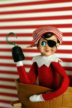 My Elf Izza: Pirate by WondermintShoppe on Etsy
