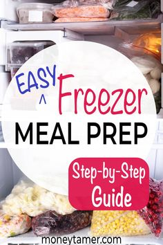 Plus Tips To Plan Meals Freezer Cooking, Freezer Meals, Healthy Meal Prep, Healthy Recipes, Discount Grocery, Grocery Savings Tips, Household Expenses, Save Money On Groceries, Plant Based Eating
