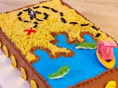 A l'abordage… cap sur le trésor des pirates ! Pour épater vos jeunes gourmands lors d'une fête anniversaire pirates, confectionnez-leur un gâteau carte au trésor. Une recette proposée par Aurélie et Anne-Sophie, meilleur pâtissier M6.