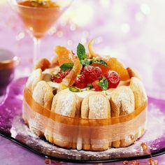 Découvrez la recette Charlotte à l'italienne sur cuisineactuelle.fr.