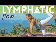 Juicy Lympathic System Massage 💆 Yoga Flow for Lymphatic System - Day 8 Sanftes Yoga, Yoga Flow, Pilates, Online Yoga Teacher Training, Yoga Detox, Lymphatic Drainage Massage, Gentle Yoga, Restorative Yoga, Lymphatic System