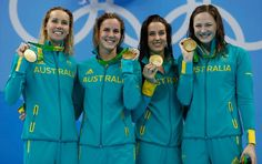 RIO 2016 : best stories today on Sunday, August 7th !!!  World Record and gold medals: Women's 4 x 100m Freestyle Relay (3:30.65).   World Record and gold medal: Women's 400m Individual Medley (4:26.36).   #Rio2016 #swimming  #sportsmarketing #sports #ronaldtintin #olympicsports #ronningainstcancer #brazil #dogood #KatinkaHosszu #EmmaMcKeon #BrittanyElmslie BronteCampbell #CateCampbell #congratulations #Australia #Hungary #worldrecord #olympicrecord