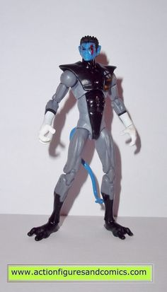 Hasbro toys action figures for sale to buy MARVEL UNIVERSE 2013 series 5 #028 - NIGHTCRAWLER (X-Foce stealth suit) 100% COMPLETE condition: Overall excellent - nice paint, nice joints. nothing broken,