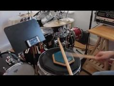 Double Strokes on a drum pad