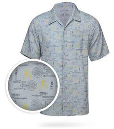 280c632f06 Star Trek Hawaiian Shirt Star Trek Gifts