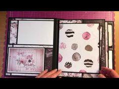 Mini Album Using Prima Marketing Rose Quartz collection - YouTube