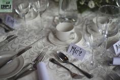 those lovely table settings at Clayton Hotel, Ballsbridge. Real Wedding by Couple Photography City Centre Dublin, Clayton Hotel, Saint Stephen, Wedding Table Decorations, Couple Photography, Real Weddings, Table Settings, Couples, Place Settings