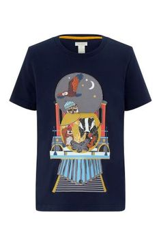 61a0acbbcc Buy Monsoon Navy Talon Train Flipbook Tee from the Next UK online shop