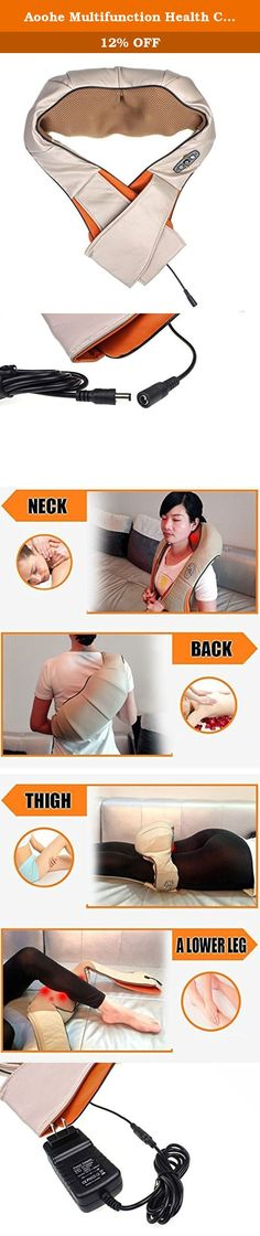 Aoohe Multifunction Health Care Equipment Car Home Dual-Use Massager Acupuncture Kneading Neck Shoulder Massager. Item Type:Massage & Relaxation Material:pvc, fabric Application:Body Size: 33.5 * 19.5 * 12cm Item Type:Massage & Relaxation Stalls:2 file Massage gimmick: malaxation, shiatsu, massotherapy Applications:Home, car , office way power supply:car power supply, AC Massage equipment appearance:parallel-chord rectangular .