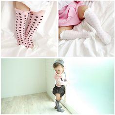 275178cbe Find More Socks Information about Kids Girls Socks Knee High Infant Baby  Girls Princess Socks Polka