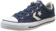 CONVERSE STAR PLAYER OX WOMENS NAVY TRAINERS 3