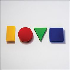 Jason Mraz - Love Is A Four Letter Word on Limited Edition 2LP   D-Side Etching