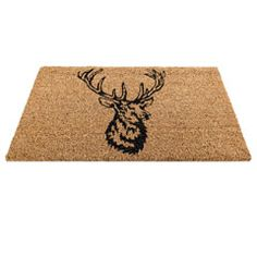 Buy Gardman Coir Stag Mat 75 x 45cm at Guaranteed Cheapest Prices with Rapid Delivery available now at Greenfingers.com, the UK's #1 Online Garden Centre. £9.99