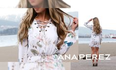 Una de las bloggers mas influyentes del momento viste Ana Perez. #CaraMcLeay #AFashionLoveAffair <3