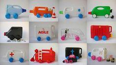 Reciclem: envasos i ampolles de plàstic (1) | tot nens