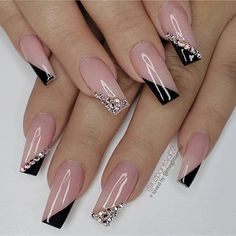 Spring Nail Art Designs for Women 2020 - Spring Nail Art Designs for Women 2020 100 Spring Nail Art Designs for Women 2020 Square Nail Designs, Nail Art Designs, Nails Design, Cute Acrylic Nail Designs, French Manicure Designs, Beautiful Nail Designs, Nagellack Design, Gel Nails, Nail Polish