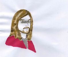 Personal Jesus #illustration #jesuschrist #inter #fcinternazionalemilano  http://dettapini.blogspot.it/2012/07/jesus-supports-inter.html
