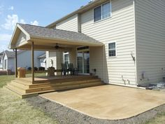 Covered Patio Additions | Ankeny covered porch addition