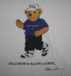 polobear - Yahoo!検索(画像) Huge Teddy Bears, Polo Design, Smokey The Bears, Black Bolt, Ralph Lauren Logo, Classic Cartoons, China Painting, Denim And Supply, Sports