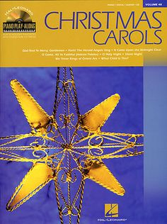 Hal Leonard Piano Play-along Volume 48: Christmas Carols - Book & CD. £9.95