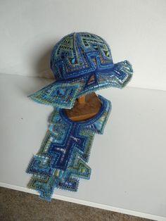 Letohrad Galerie IVKO – krajka – album na Rajčeti Bobbin Lace, Ivy, Captain Hat, Crochet Hats, Album, Inspiration, Clutch Bags, Bags, Contemporary