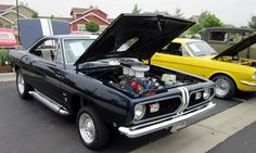 This 1968 Barracuda won the hot rod catagory at the MacKenzie Place Car Show.