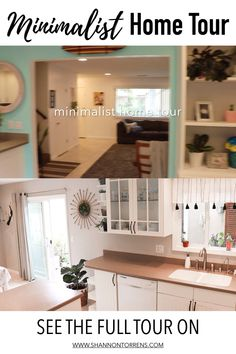 Minimalist Home Tour - When we moved into our home we weren't minimalists and we had never decluttered. Now we live in what I consider a minimalist family home. # DIY Home Decor videos Minimalist Home Tour House Minimalist, Bedroom Minimalist, Minimalist Home Decor, Minimalist Living Tips, Minimal Living, Simple Living, Lounge Design, Diy Interior, Decorating Your Home
