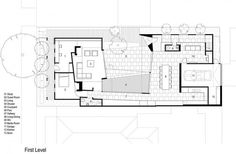 Image 23 of 25 from gallery of House 3 / Coy Yiontis Architects. Patio Grande, Patio Central, Retail Facade, Southern Living House Plans, Floor Plan Layout, Old Cottage, Australian Architecture, Storey Homes, Shade Structure