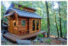 Kleines Haus auf Rädern günstig bauen - Mobiles Haus günstig selber herstellen - Tiny House in Deutschland kaufen