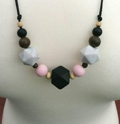 Check out this item in my Etsy shop https://www.etsy.com/uk/listing/540733738/teething-necklace-nursing-necklace