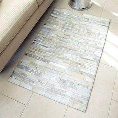 Wonderful in White Area Rug/Wall Tapestry - Two's Company - $550.00 - domino.com