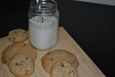 Delicious milk and cookies! Recipe from Boston's amazing Flour Bakery & Cafe