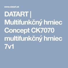 DATART | Multifunkčný hrniec Concept CK7070 multifunkčný hrniec 7v1